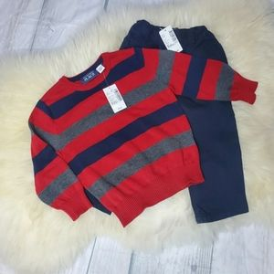 Boys Sweater and long pants